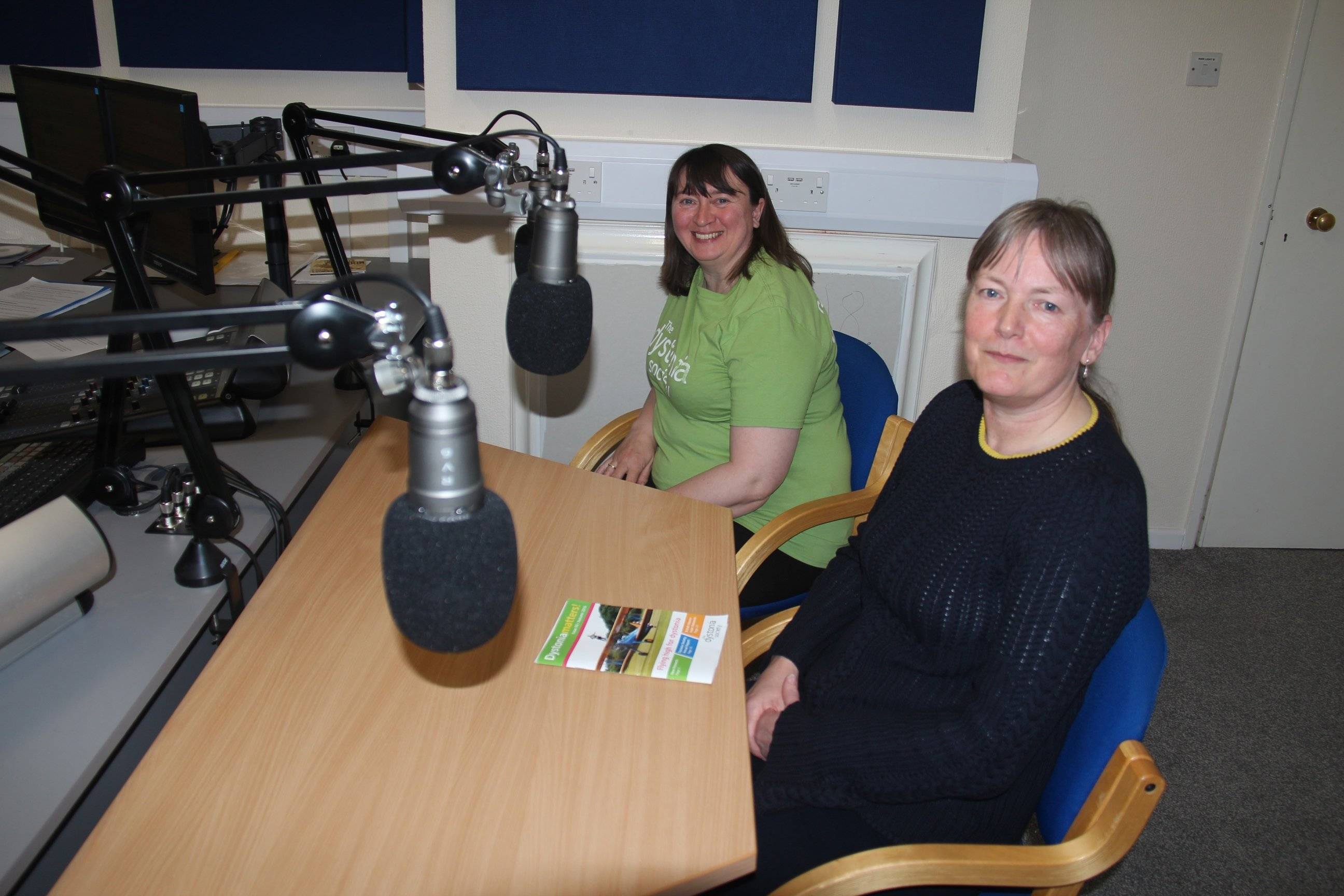 Vanessa and Susan at Beverley FM